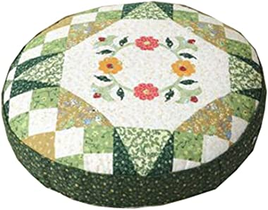 """Dragon Troops Thicken Round Floor Pillow Cushion Japanese Style Futon Seat Cushion 21.6"""",A3"""