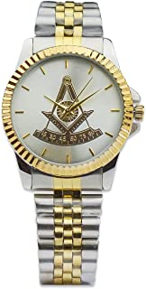 Past Master Fold Over Masonic Wrist Watch