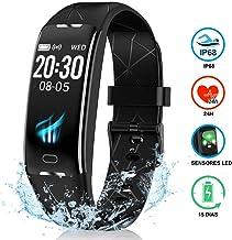 NAIXUES Pulsera Actividad Inteligente GPS, Pulsera Deportiva IP68, 7 Modos Deportes, Monitor Cardiaco Reloj Pulsaciones, Niños Mujeres Hombres, Compatible con iOS y Android