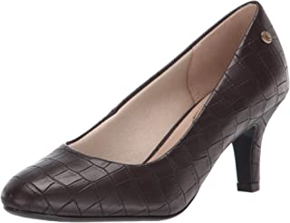 LifeStride womens Parigi Pump, Dark Chocolate, 8.5 US