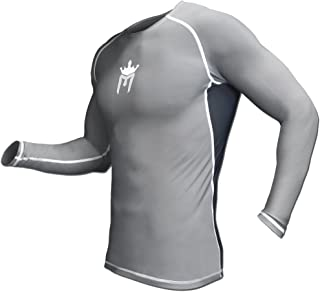 Meister Rush Premium Long Sleeve Rash Guard for MMA, BJJ & Diving