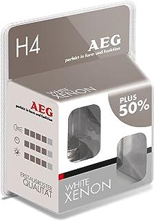 AEG Automotive 97260 Glühlampe Weiß H4, 60/55 W, 2 er Set