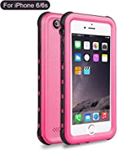 iPhone 6S 6 Waterproof Case, Dooge Shockproof Dirtproof Snowproof Rain Proof, Heavy Duty Full Protection Phone Case Cover Rugged IP68 Certified Waterproof Case for iPhone 6S/6 4.7