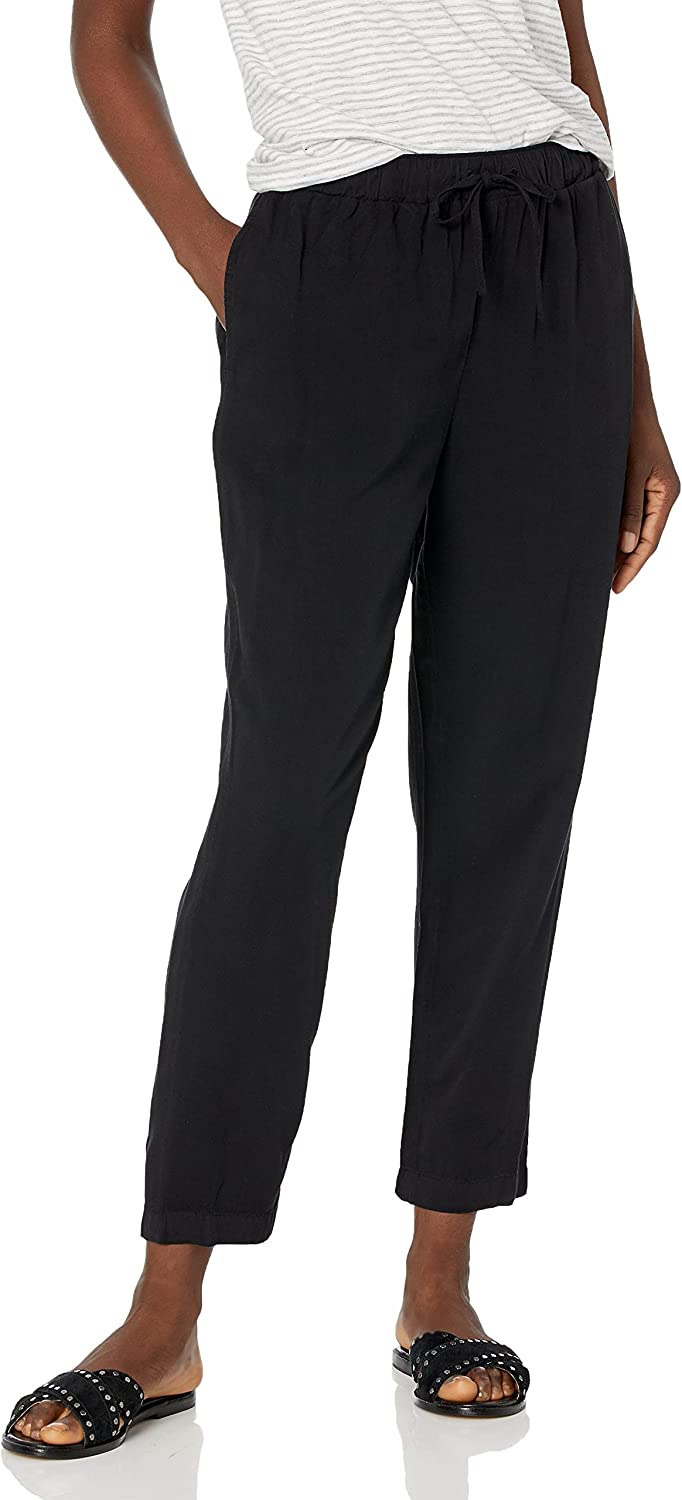 RVCA Women's Blank Stare High Waist Relaxed Fit Pant