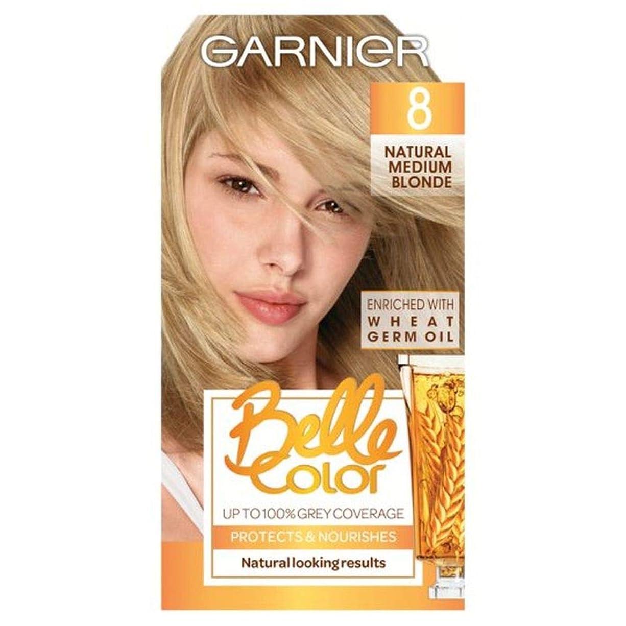 マーガレットミッチェル知っているに立ち寄る元気な[Belle Color ] ガーン/ベル/Clr 8天然培地ブロンドパーマネントヘアダイ - Garn/Bel/Clr 8 Natural Medium Blonde Permanent Hair Dye [並行輸入品]