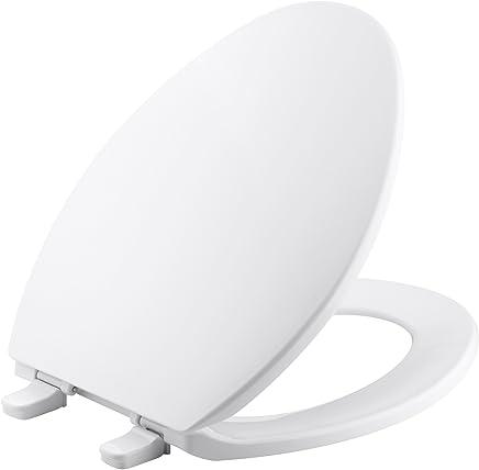 Kohler brevia Elongated Asiento para inodoro con Q2ventaja, color blanco, Una talla, Blanco
