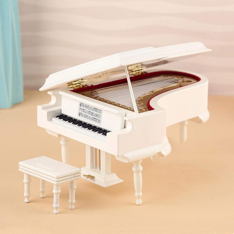 XYXZ Music Box Ornaments Hand Crank B Oklahoma City Mall Grand Piano with quality assurance