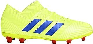 Nemeziz 18.1 Fg J Silver/White Soccer Shoes (DB2349)