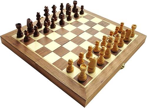 H ernes hochwertiges Schach, faltbares h ernes Schachbrett, h erne Schachfiguren, Kinderschach (Farbe   A)