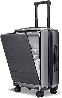 スーツケース 機内持ち込み NINETYGO Seine フロントオープン 静音キャスター TSAロック搭載 キャリーケース ファスナー式 軽量 耐衝撃 スムーズ走行 (5年間安心保障)