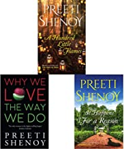 A Hundred Little Flames + Why We Love The Way We Do: 1 + It Happens for a Reason (Set of 3 Books)