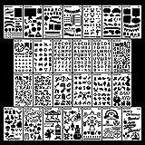 Journal Stencil Template 26Pcs Planner Set for...