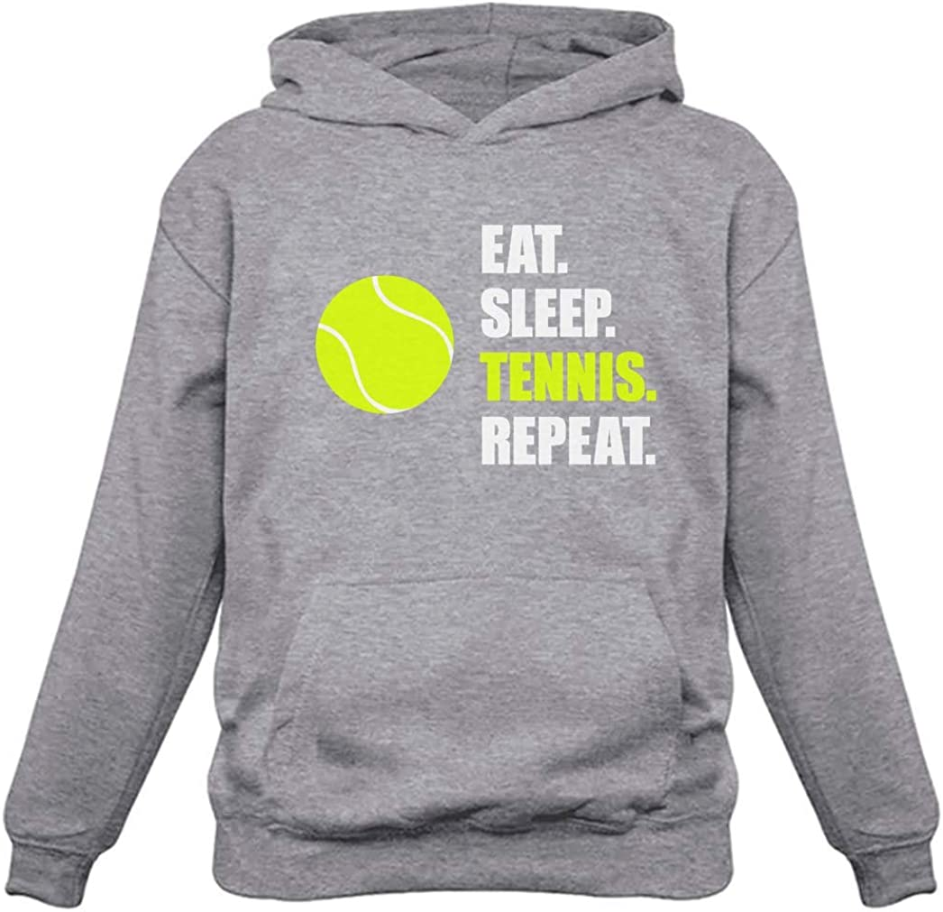 Eat Sleep Tennis Repeat Sales Directly managed store Gift for Player Sports Hood Women