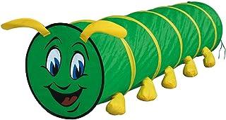 """Bino tunnel """"tusen fessler"""" barnleksaker från 3 år, barnleksaker (pieltunnel för inomhus och utomhus, lätt att montera tac..."""