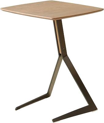 ガルト(Gart) サイドテーブル ブラウン 幅44cm フェイ