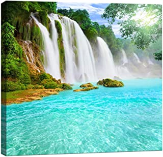 Best waterfall canvas art Reviews