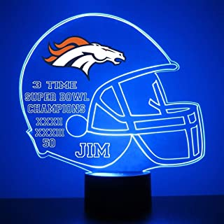 denver broncos led light