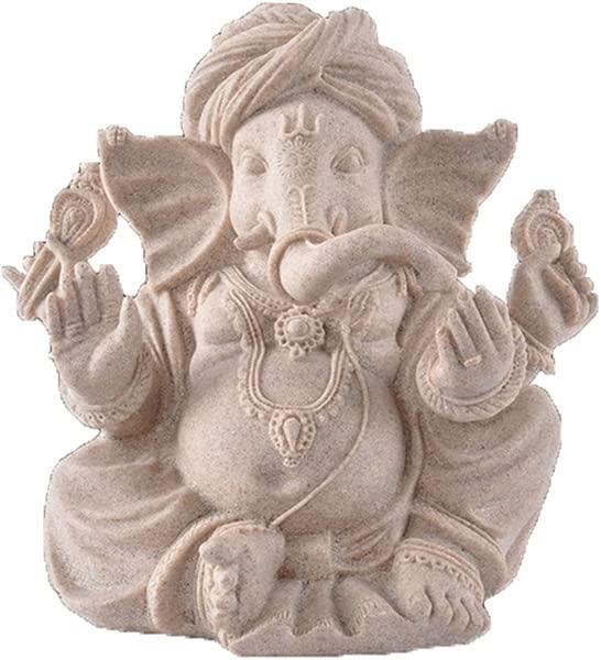 OMEM Fish Tank Decorations Ganesh Buddha Statue Aquarium Ornaments Home Decorations Gift