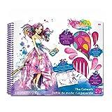 Style Me Up - Libro para Colorear con 5 pinturas de acuarela, 2 pinceles y 5 lápices de acuarela - La pasarela - SMU-1302