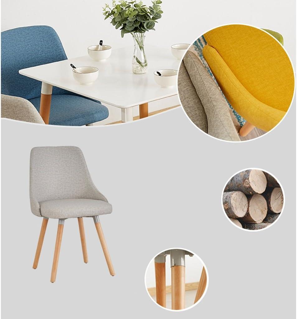 WDX- Chaise de bureau étude moderne minimaliste créative mode (Color : E) C