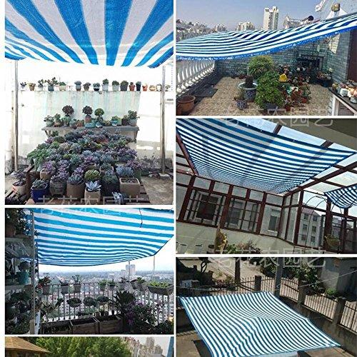 YS Paño de Protección Solar Multiusos Al Aire Libre 90% Tela de Sombra Sol con Ojales para Cubierta de Pérgola,42M