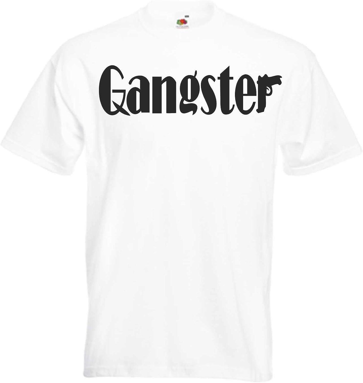 JINTORA Camiseta T-Shirt - Gangster - Crimen organizado de ...