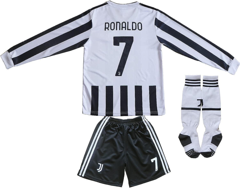 FCRM 2021 2022 New #7 Cristiano Long Home So Ronaldo Ranking TOP18 Brand Cheap Sale Venue Sleeve Kids