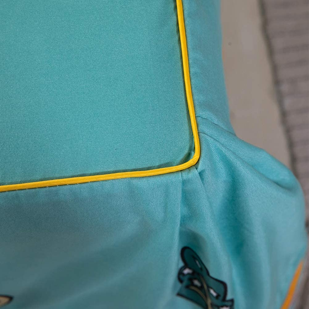 WSYK Housse De Matelas Lit Double,Housse De Protection pour Matelas Couvre-Lit Tissu Coton Aloès, Jupe avec Lit Lavable en Machine, Lavable 003