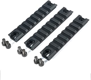 Green Blob Outdoors GBO G36 G36C Set of 3 Polymer Picatinny Rail Sections Set for Handguards