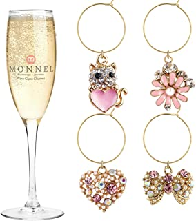 Best pink wine charms Reviews