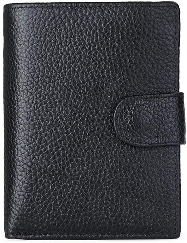 High-End-Herrenbrieftasche Führende Brieftasche aus aus aus Leder von Rindsleder mit Grünikaler Brieftasche und Einer geringen Menge an Volumen by NaXinF B07MV5JVFH b0c2bb