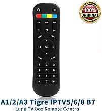 Original A1 A2 Tigre iptv 5 6 TV Remote Control, A 1 A 2 A3 B7 Tigre Luna TV Box IPTV5 Plus+ IPTV6 IPTV8 TVbox Remote Control