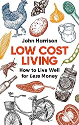 frugal living books - front cover image of low cost living book