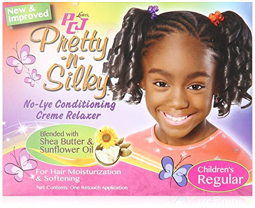 Luster's PCJ Pretty N Silky No Lye Conditioning Relaxer Children's, Regular