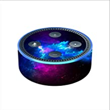 Skin Decal Vinyl Wrap for Amazon Echo Dot 2 (2nd generation) / Galaxy Space Gasses