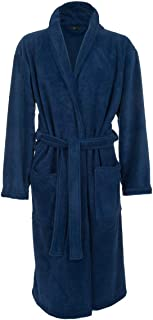 BNWT M/&S Mens Gents grey premium fleece dressing gown robe S /& M
