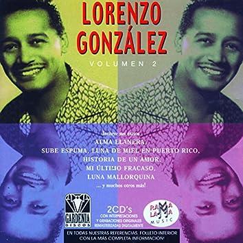Lorenzo González. Sus Éxitos Tropicales Vol. 2