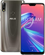 ASUS ZenFone Max Pro (M2) (ZB631KL) 4GB / 128GB 6.3-inches LTE Dual SIM Factory Unlocked - International Stock No Warranty (Cosmic Titanium)