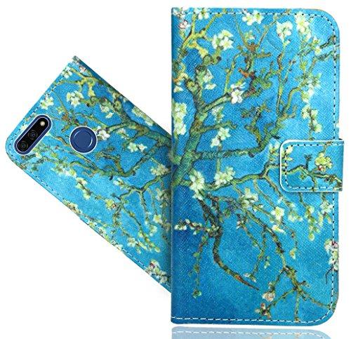 Honor 7A / Huawei Y6 2018 / Y6 Prime 2018 Handy Tasche, FoneExpert® Wallet Hülle Flip Cover Hüllen Etui Hülle Ledertasche Lederhülle Schutzhülle Für Honor 7A / Huawei Y6 2018 / Y6 Prime 2018