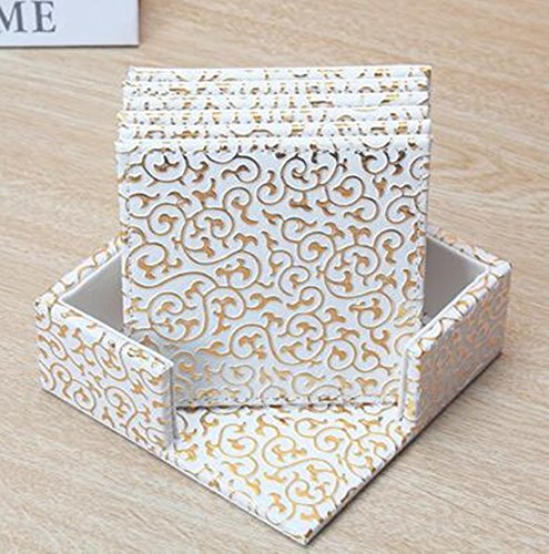 Continental Creative Cuir Dessous-de-verre Isolation Tapis de cérémonie du thé japonaise Pad