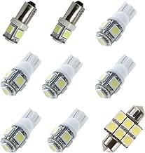 For Infiniti G35 G37 Sedan Led Interior Lights Led Interior Car Lights Bulbs Kit White 2006-2014 9Pcs