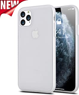 iPhone 11 Case Clear, Full-Body Protective Shock-Absorption Slim Fit Liquid Silicone & PC iPhone 11 Phone Cases with Skid-Proof Anti-Scratch Anti-Yellow Cover for Apple iPhone 11 6.1 Inch 2019