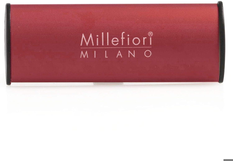 Millefiori Milano Car Air Freshener Icon Classic Red Vanilla Wood Mainapps Beauty