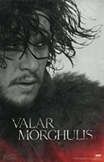 Game of Thrones Valar Morghulis Jon Snow TV Cool Wall Decor Art Print Poster 24x36