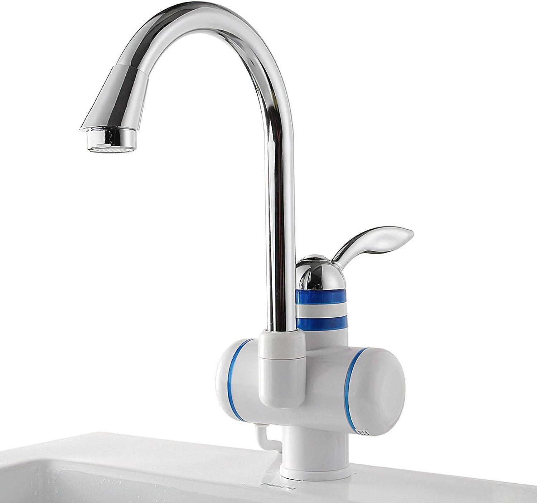 HVTKL Sofortiger elektrischer Heizungs-Hahn 220V 3000W durchlaufender elektrischer Warmwasserbereiter-Hahn-Boden-Wassereinlass