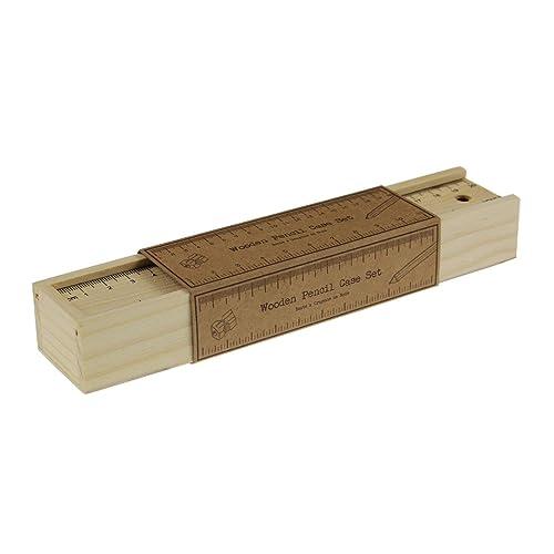 Wooden Pencil Case Amazoncouk