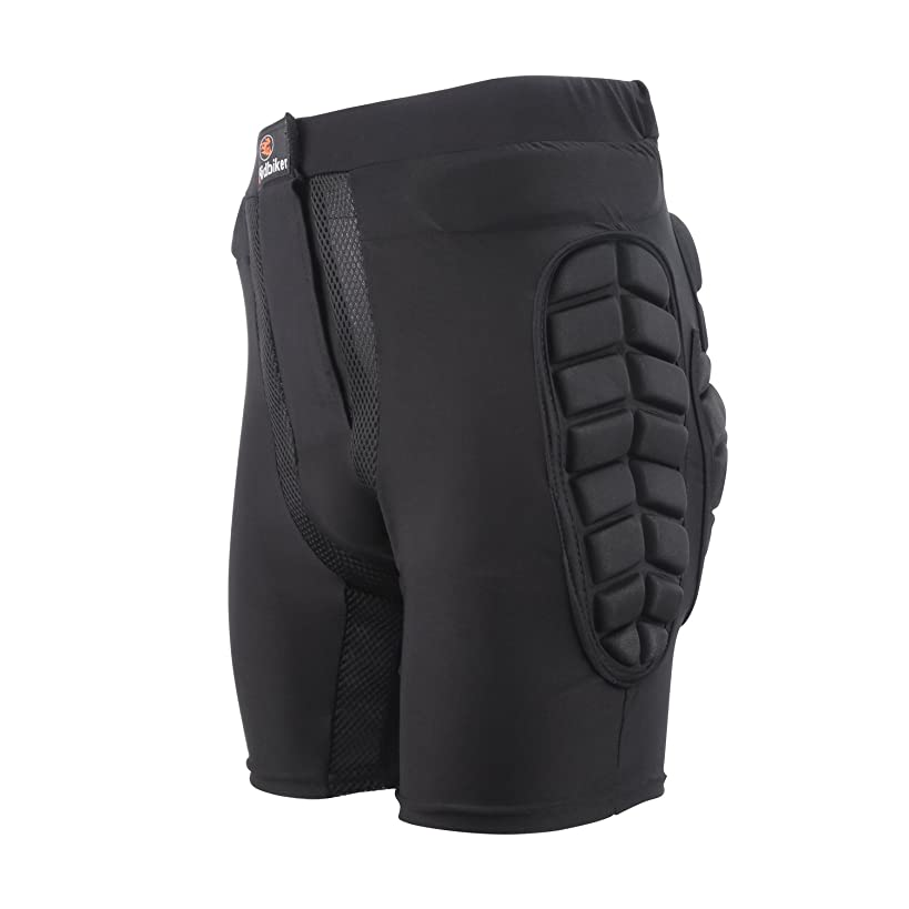 RIDBIKER Bicycle Motorcycle Skiing Racing Armor Pads Hips Legs Protector Short Pants