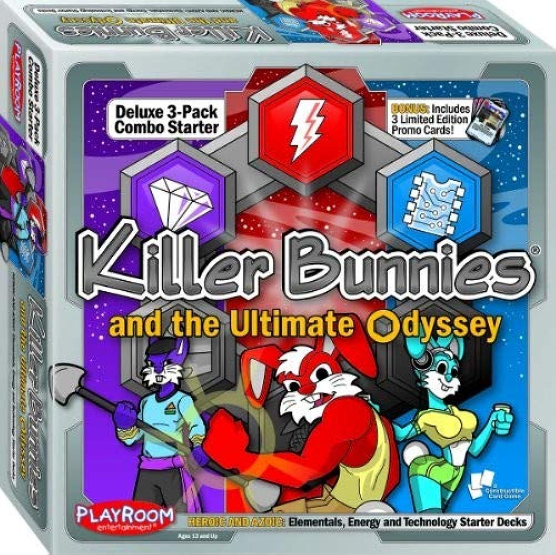 Killer Bunnies & The Ultimate Odyssey  Heroic And Azoic Deluxe Starter Combo B00443PIFQ Kindlich | Lebhaft und liebenswert