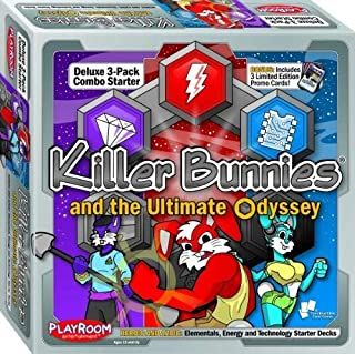 Playroom Entertainment Killer Bunnies Oddessy Starter Combo Heroic and Azoic