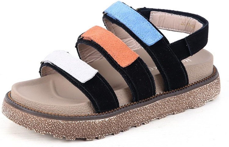 CYBLING Flatformat Buckle Peep Toe Wedge Semestival Casual Sandals Sandals Sandals för kvinnor  het försäljning